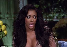 porche with real hair from atalanta housewives porsha williams charged with assault over brawl with kenya moore