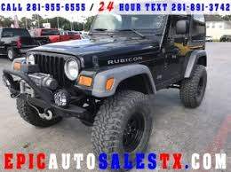 used jeep for sale used jeep wrangler for sale in tomball tx 106 used wrangler