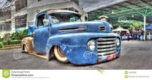 truck ford blue rusty blue ford pickup truck editorial stock image image 59533099