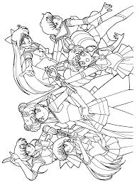 sailor scouts sailor moon colouring page coloring pinterest