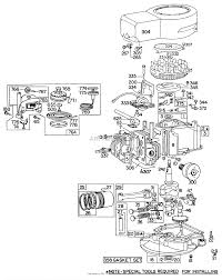 diagram briggs and stratton parts diagram