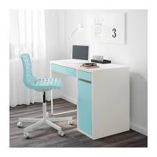 Ikea Micke Desk Makeup Micke Desk White Light Turquoise White Light Turquoise 41 3 8x19