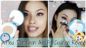first impressions a u0027pieu doraemon air fit cushion foundation
