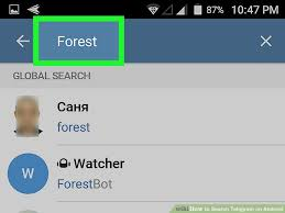 telegram for android how to search telegram on android 3 steps with pictures