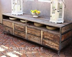 Shipping Crate Coffee Table - zoria crate coffee table with handles reclaimed wood