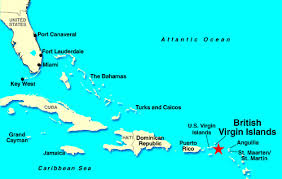 map of bvi and usvi offshore jurisdiction review islands