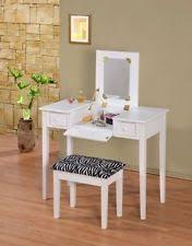 Flip Top Vanity Table Zebra Vanity Ebay