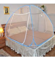 mosquito net for bed buy kawachi double bed size folding mosquito net white polyester