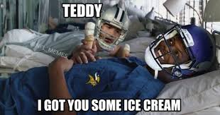 Forrest Gump Memes - teddy bridgewater tony romo meme uses forrest gump to make fun of