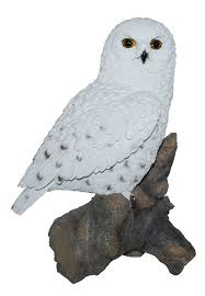 real large snowy owl garden ornament sizeb co uk