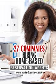these 27 companies will hire you to work from home taking reservations