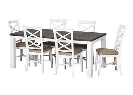 Monte Carlo  Pce Dining Sideboard  Trestle Table Melbourne - Monte carlo dining room set