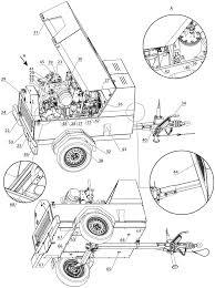 дизельный компрессор comprag porta 5 в исполнении на шасси и на опорах