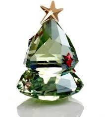Swarovski Crystal Christmas Tree Decorations by Swarovski Crystal Festive Christmas Tree Ornament Mom Gift