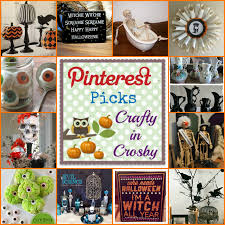 crafty in crosby halloween pinterest picks