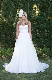 custom made wedding dress custom made strapless sweetheart white organza wedding dress