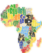 map of africa with country names countries afrikan names