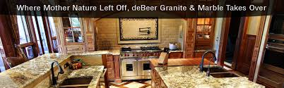 Kitchen Granite Countertops by Debeer Granite U0026 Marble Inc South Atlanta U0027s Premier Granite