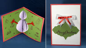 Popup Card Making Ideas Unbelievable Handmade Christmas Card Ideas Diy To Make For Image Of