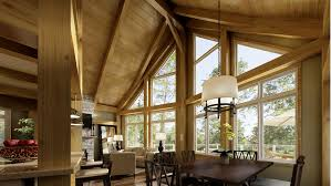 timber frame home interiors beaver homes and cottages what s included timber frame