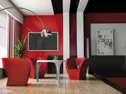 Red And Black Furniture For Living Room by Red Black And White Salon Ideas Pinterest Salons Salon