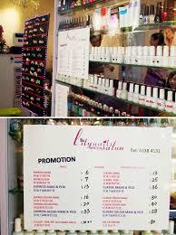 lifestyle manicure pedicure bargains in singapore samantha joy