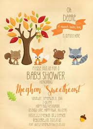 woodland baby shower invitations gender neutral baby shower invitations tagged sweet baby