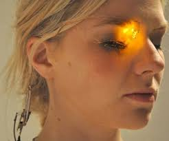 Stick On Led Lights Led Eyeshadow The Future Of Makeup Technabob