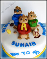 alvin and the chipmunks cake toppers alvin the chipmunks cakecentral
