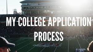 my college application process liberty university youtube