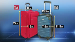 United Luggage Restrictions carry on size suitcase dimens