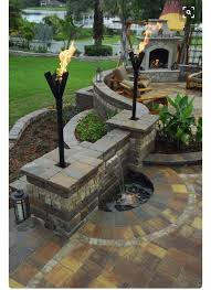Backyard Feature Wall Ideas Best 25 Patio Wall Ideas On Pinterest Patio Privacy Patio