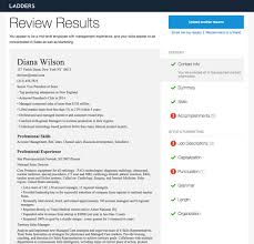 Free Online Resume Critique by Get Our Free Resume Review In 35 Seconds Or Less Ladders