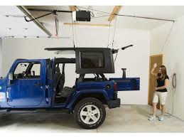 how to store jeep wrangler top harken hoister garage storage 4 point lift system i need one of