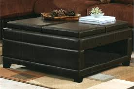 storage ottoman with flip tray top and additional cube ottoman tag