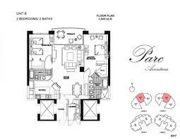 the parc at turnberry isle aventura floor plans