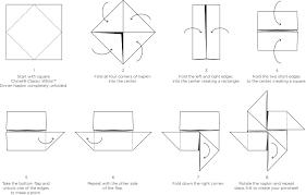 how to make table napkins pinwheel napkin fold napkins diy decoration and craft