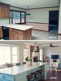 Kitchen Remodel Before After by Opening Walls Between Rooms Transforms Living Spaces Dreaming Of