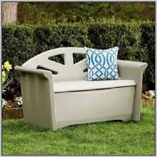 Rubbermaid Storage Bench Patio Bench Plans Storage Patios Home Decorating Ideas Hash