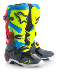 alpinestar tech 3 motocross boots alpinestars tech 10 le union boots revzilla