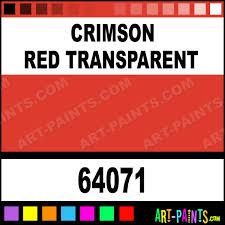 crimson red transparent pro color airbrush spray paints 64071