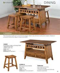 Sunny Design Furniture Prices U2022 Sunny Designs Cornerstone Dining Furniture U2022 Al U0027s Woodcraft