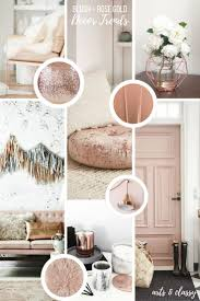 rose gold interior decor inspiration arts and classy rose gold interior decor inspiration