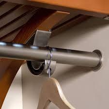 Closet Rods Amazon Com Woodcrest Wardrobe Bar Home U0026 Kitchen