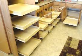 Sliding Drawers For Kitchen Cabinets Adding Pull Out Shelves To Kitchen And Bathroom Cabinets