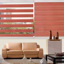 Rica Blinds Zebra Blinds Offers Artistic Feeling To The User Functionally And