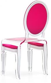 Perspex Dining Chairs Modern Furnitures