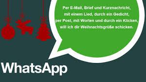 whatsapp weihnachtliche sprüche bilder screenshots computer bild