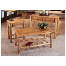 Log Dining Room Table by Castlecreek Log End Table 675420 Living Room At Sportsman U0027s Guide