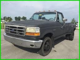 used ford work trucks for sale used 92 ford f350 custom 7 5l v8 auto rwd work truck black